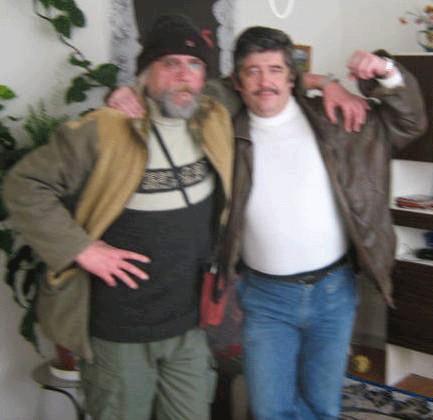 Harry Lotter z Rumburka s dědkem hippikem