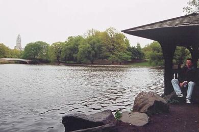 Central park - jezírko