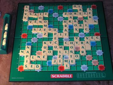 Pojďte si zahrát scrabble