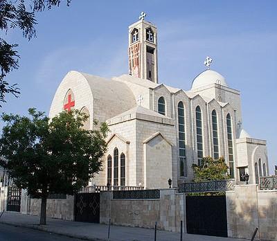 Koptský kostel v Ammánu