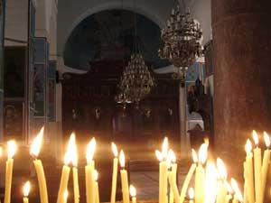 Ortodoxní kostel sv. Jiří z 6. století v Madabě